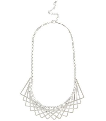 silver-layered-v-necklace