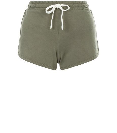 Khaki Runner Shorts  | New Look