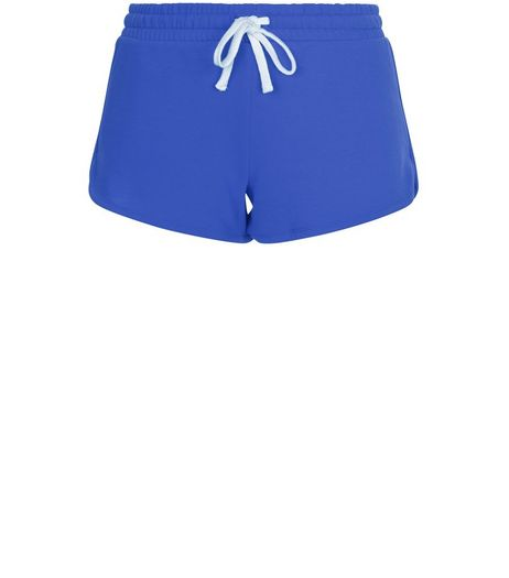 Blue Runner Shorts | New Look