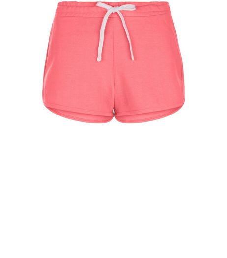 Bright Pink Runner Shorts | New Look