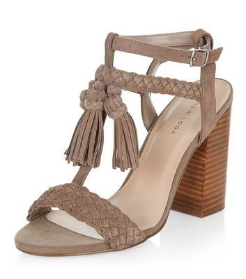 light-brown-suede-fringe-trim-heeled-sandals