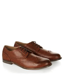Tan Lace Up Brogues  | New Look