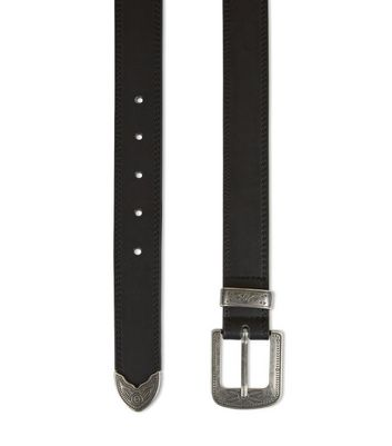 black-western-buckle-belt