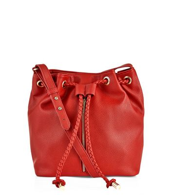 red-zip-front-duffle-bag