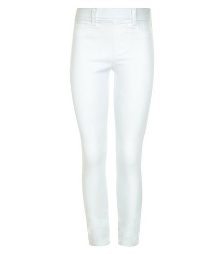 Girls White Jeggings | New Look
