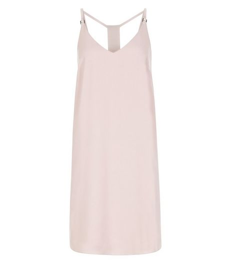 Pink Cami Slip Dress  | New Look