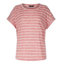 Teens Red Stripe Short Sleeve T-Shirt | New Look