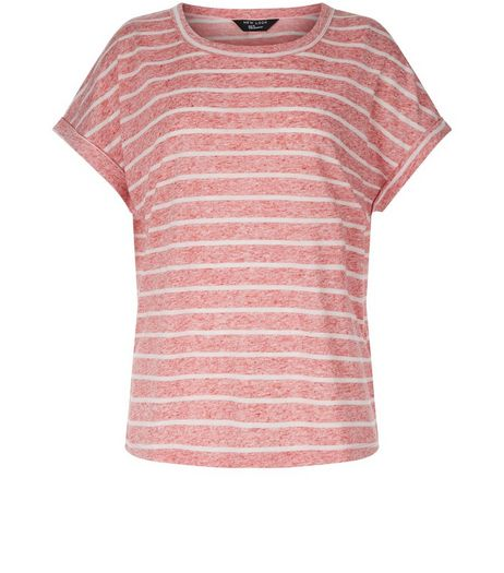 Teens Red Stripe T-Shirt | New Look