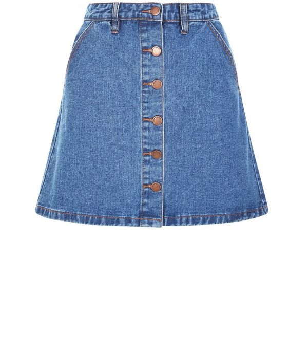 A Line Skirt Denim | Jill Dress