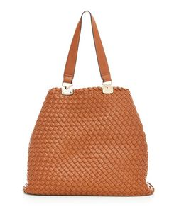 Tan Woven Tote Bag | New Look