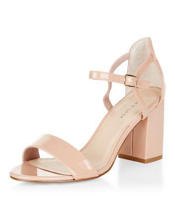 Sandalo  donna Stone Patent Block Heel Sandals