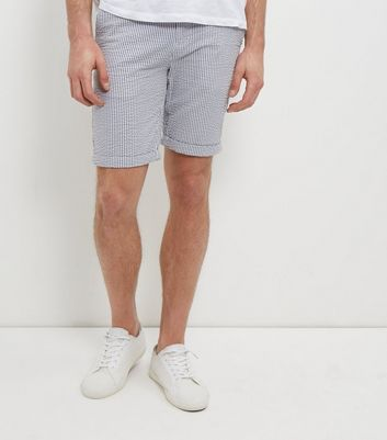 blue-stripe-turn-up-shorts