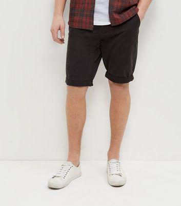 dark-grey-chino-shorts