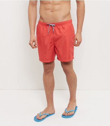 Red Swim Shorts  | New Look