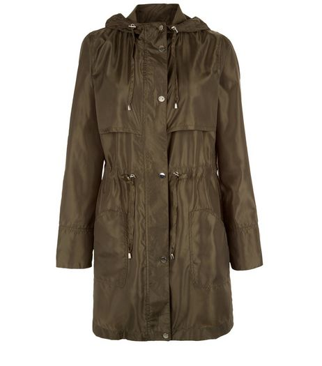 Khaki Hooded Parka | New Look