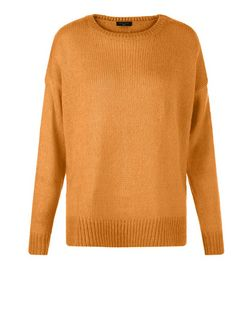 Tall Tan Boxy Jumper | New Look