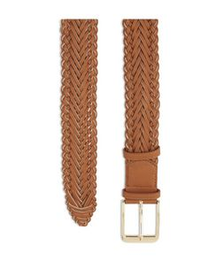 Tan Woven Jeans Belt  | New Look