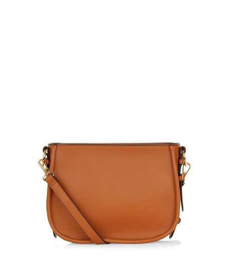 Tan Saddle Bag  | New Look