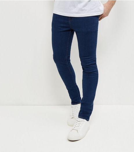 Bright Blue Super Skinny Jeans  | New Look