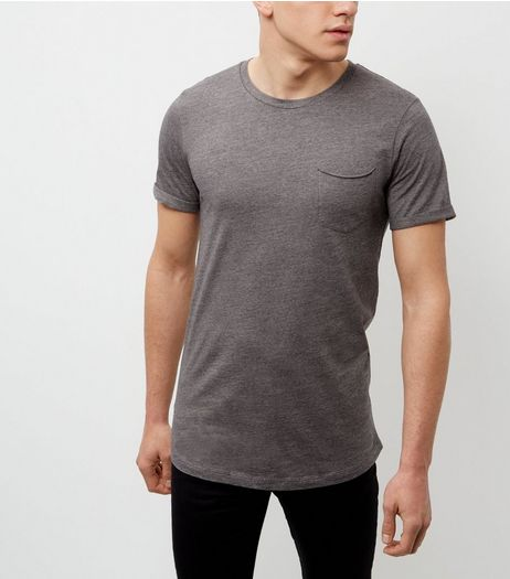 Produkt Dark Grey Crew Neck T-Shirt | New Look