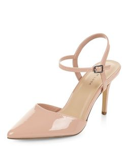 Stone Sling Back Pointed Heels | New Look