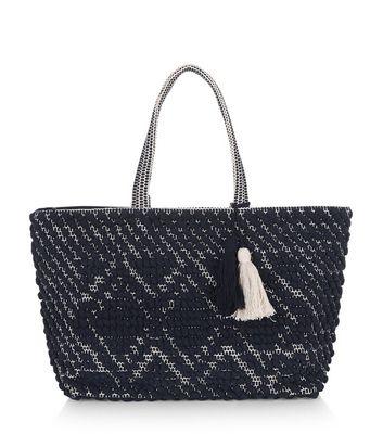 navy-bobble-rug-textured-shopper-bag