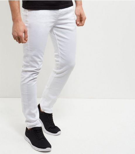 White Skinny Trousers | New Look