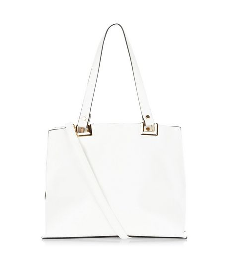 White Shopper Bag | New Look