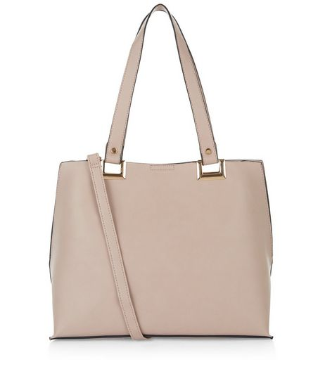 Cream Shopper Bag | New Look