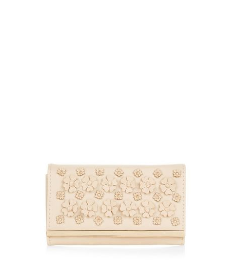 Stone 3D Floral Embellished Purse | New Look