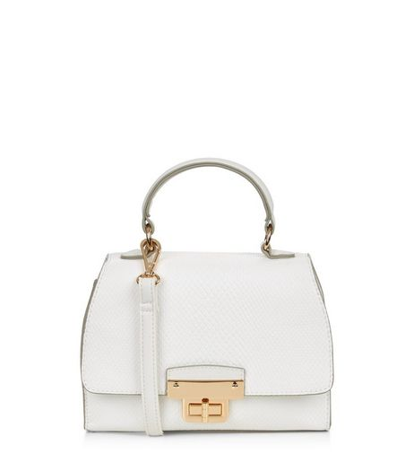 White Mini Bag  | New Look