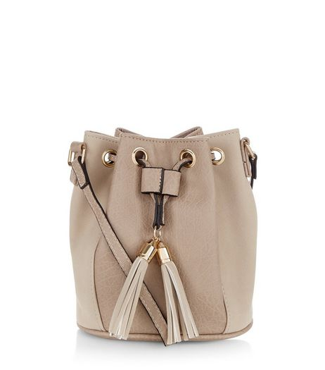 Stone Tassel Duffle Bag | New Look