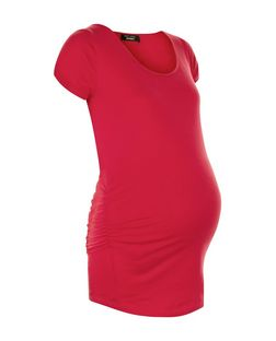 Maternity Pink Cap Sleeve Top | New Look