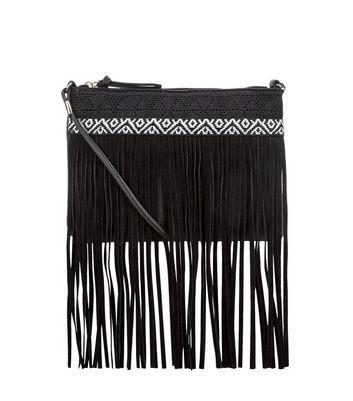 black-crochet-tassel-trim-across-body-bag