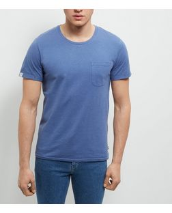 Produkt Blue Short Sleeve T-Shirt | New Look