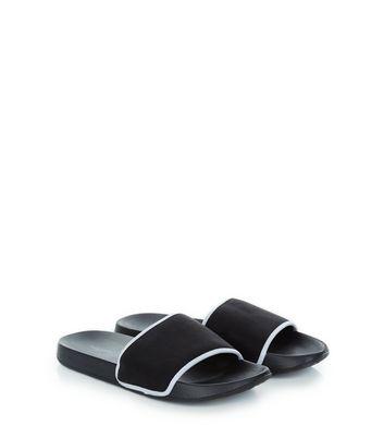 Black Contrast Trim Sliders