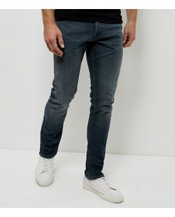 Grey Slim Fit Jeans  | New Look
