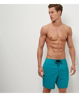 Green Swim Shorts  | New Look