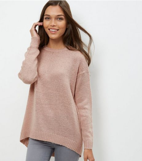 Tall Pink Boxy Jumper | New Look