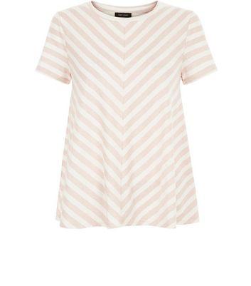 Pink Stripe Swing T-Shirt