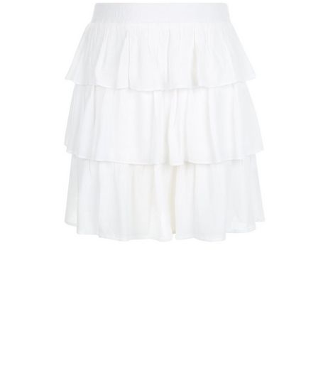 Girls White Rara Skirt | New Look