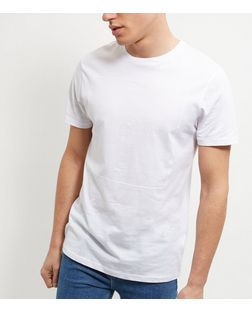 White Los Angeles Print T-Shirt | New Look