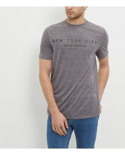 Grey New York City T-Shirt  | New Look