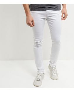 White Skinny Jeans  | New Look