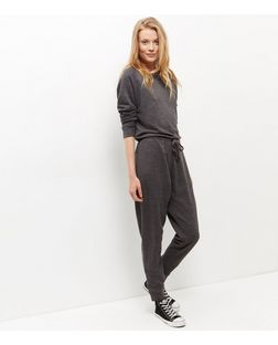 Grey Sweater Jumpsuit  | New Look