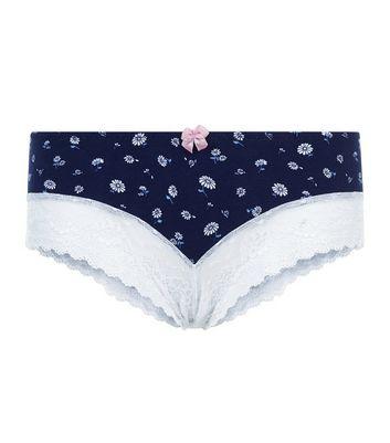 blue-daisy-print-lace-leg-brazilian-briefs