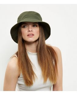Khaki Bucket Hat | New Look