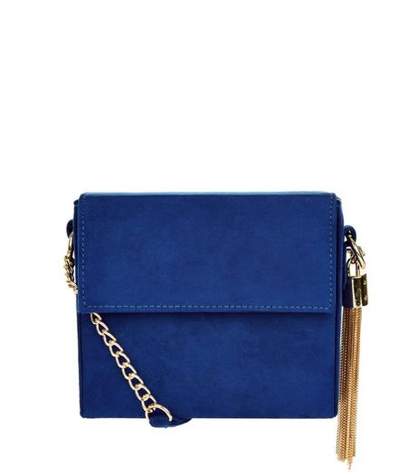 Tassel Chain Shoulder Bag | New Look