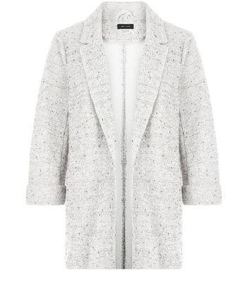 grey-fleck-knitted-double-pocket-blazer