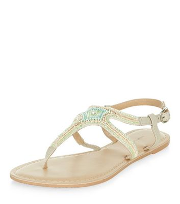 light-green-leather-beaded-sandals
